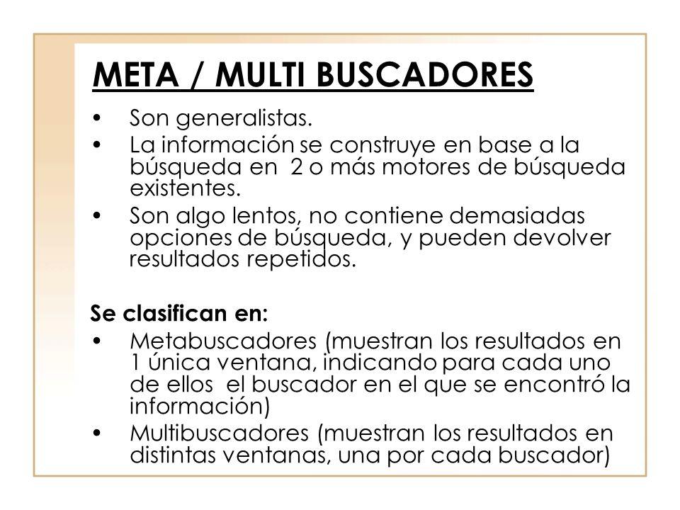 META / MULTI BUSCADORES