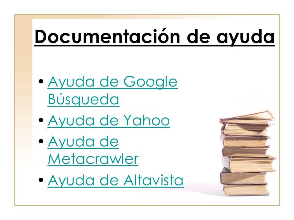 Documentación de ayuda