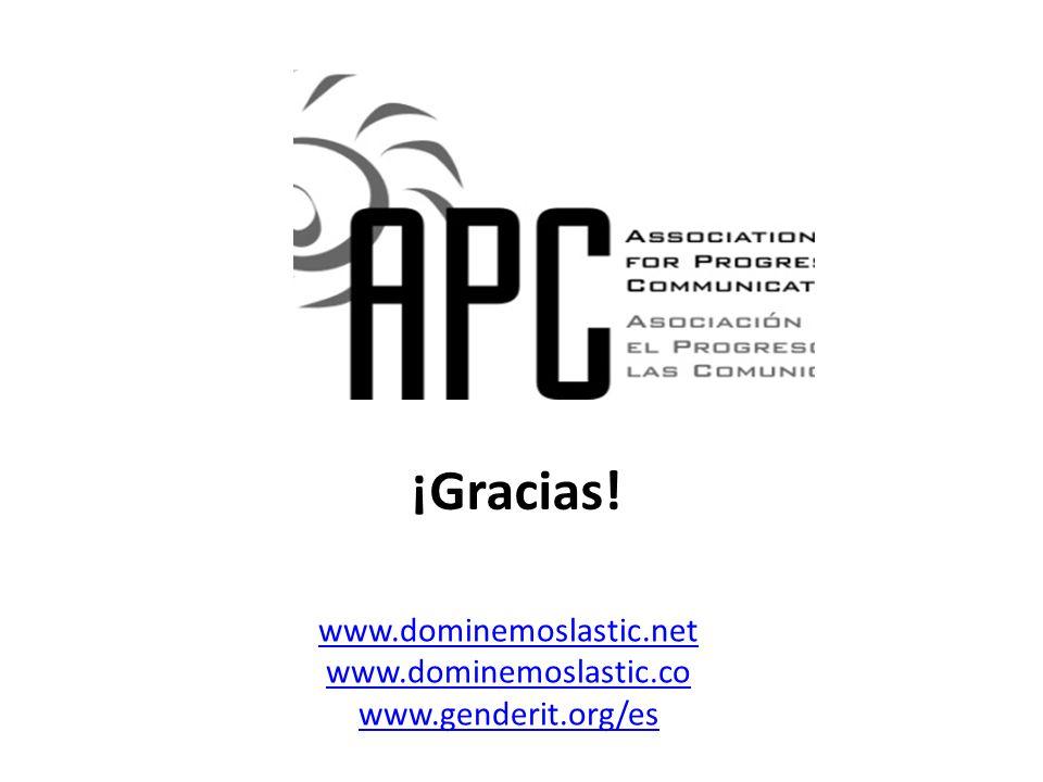 ¡Gracias! www.dominemoslastic.net www.dominemoslastic.co