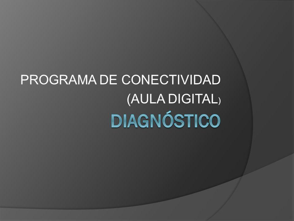 PROGRAMA DE CONECTIVIDAD (AULA DIGITAL)