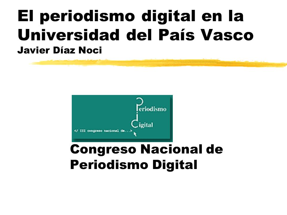 Congreso Nacional de Periodismo Digital