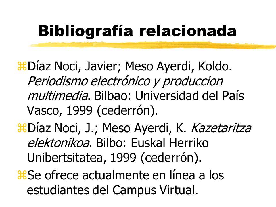 Bibliografía relacionada