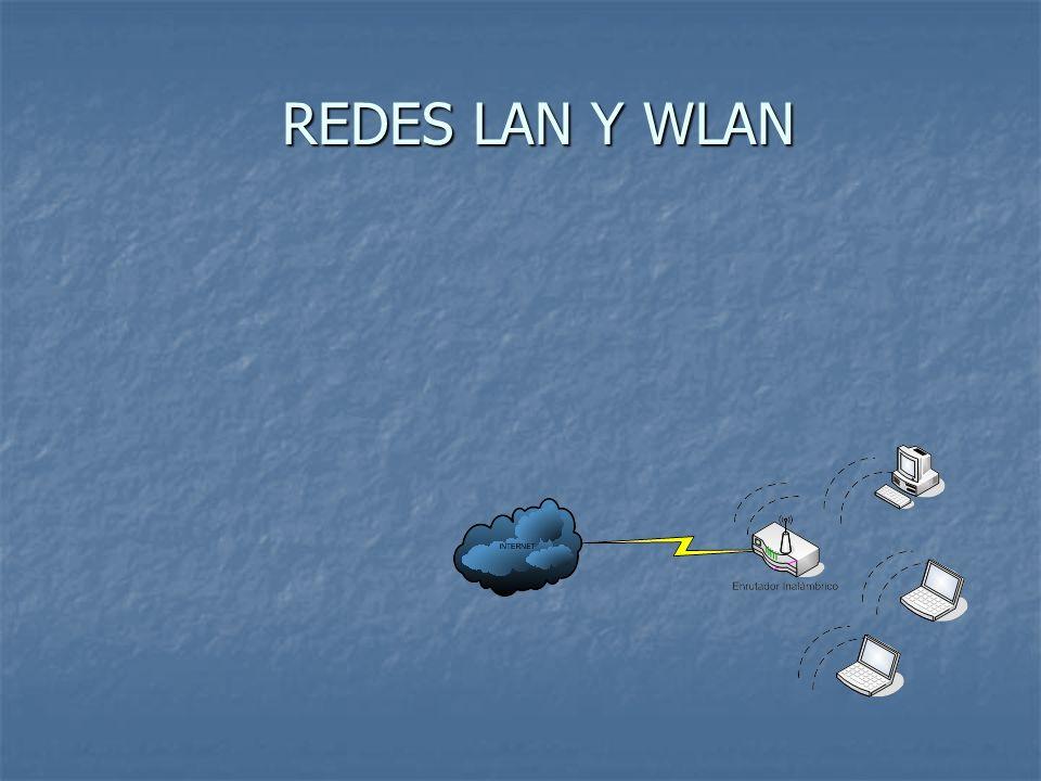 REDES LAN Y WLAN