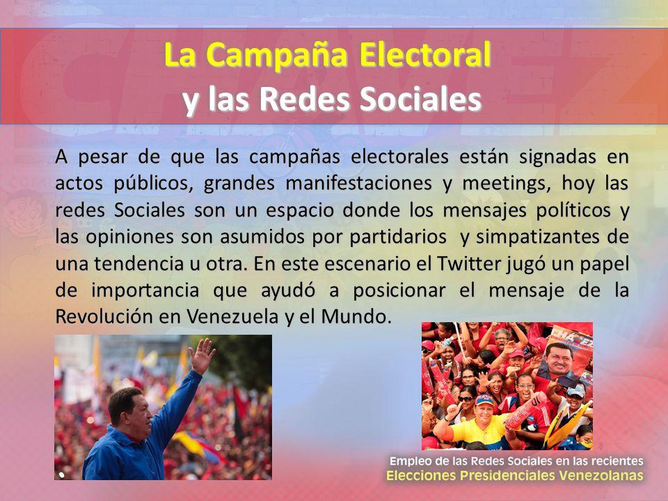 La Campaña Electoral y las Redes Sociales
