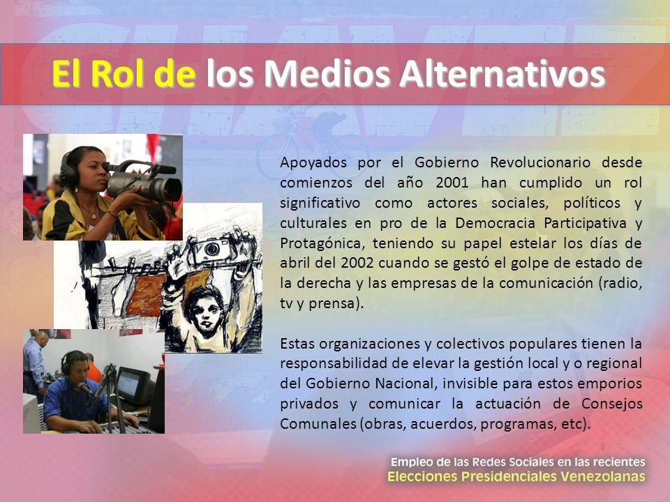 El Rol de los Medios Alternativos
