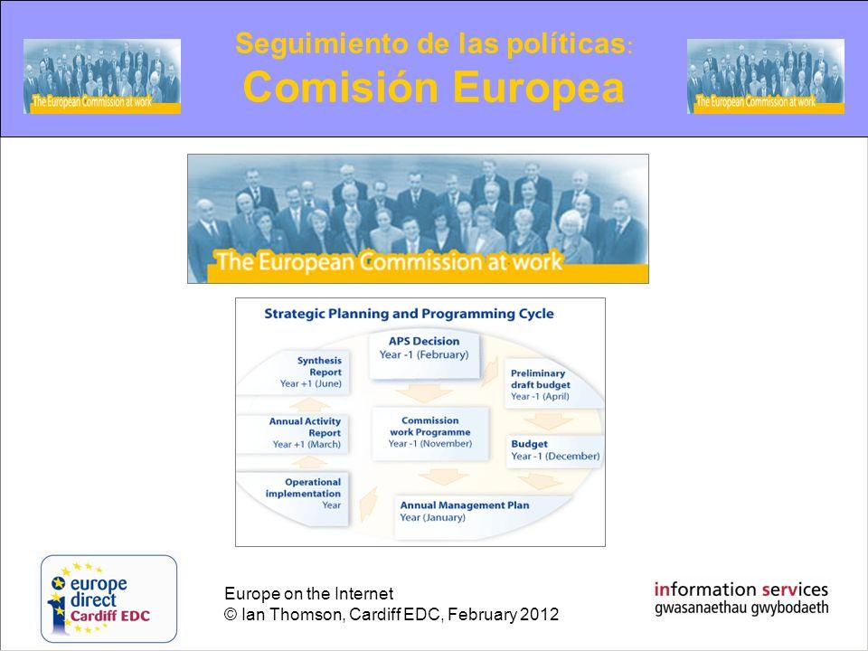 Seguimiento de las políticas: