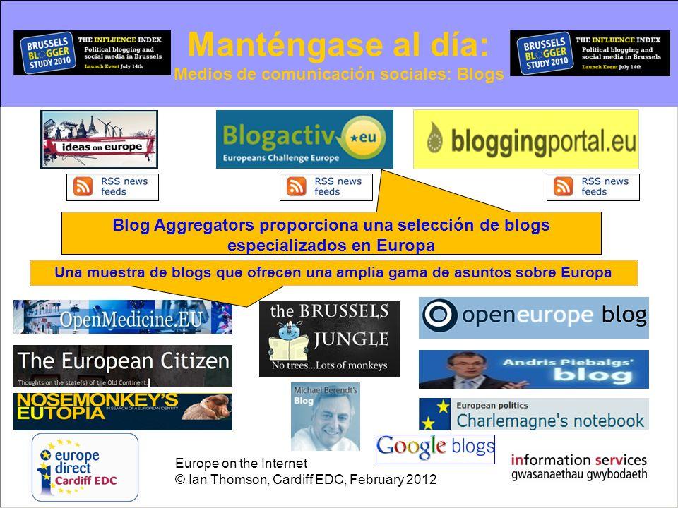 Medios de comunicación sociales: Blogs