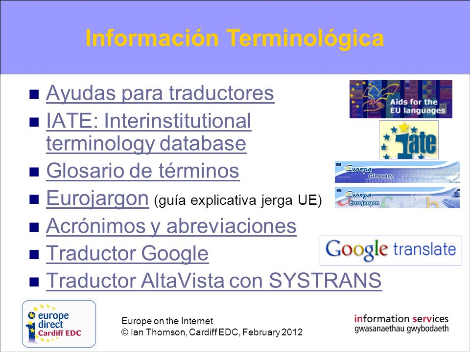 Terminological information