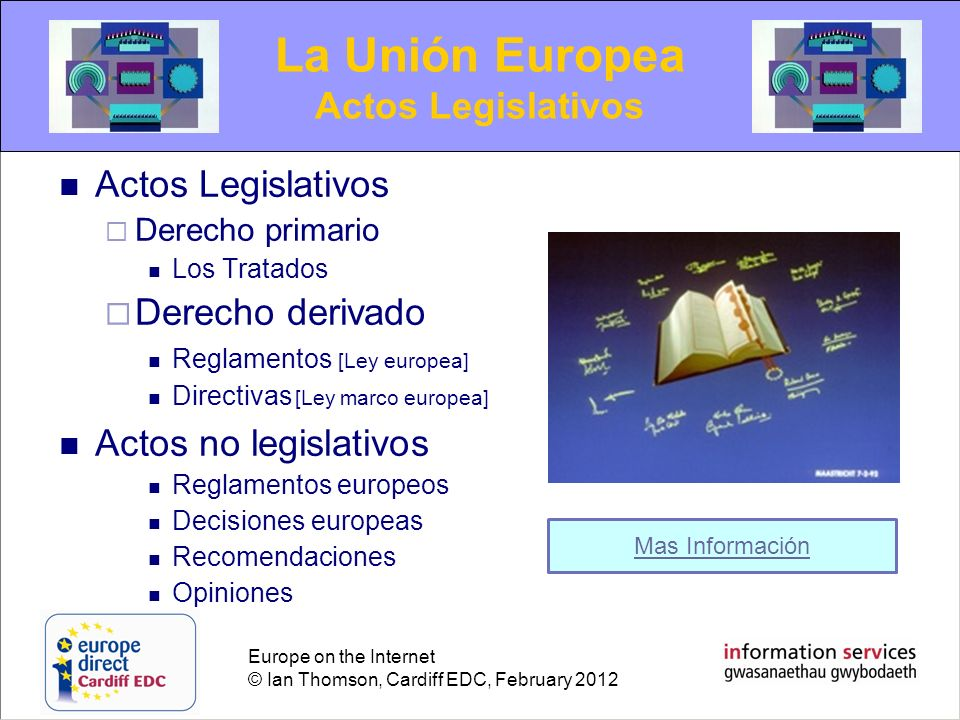 La Unión Europea Actos Legislativos Actos Legislativos