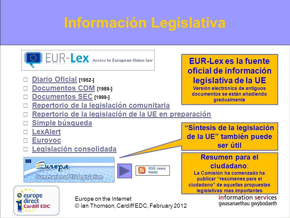 Información Legislativa
