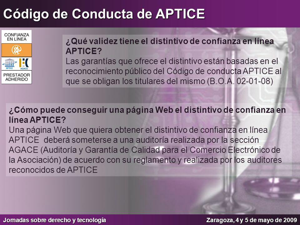 Código de Conducta de APTICE