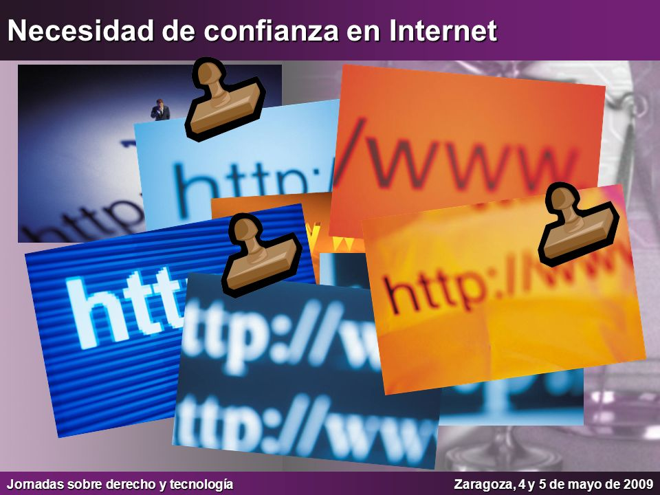 Necesidad de confianza en Internet
