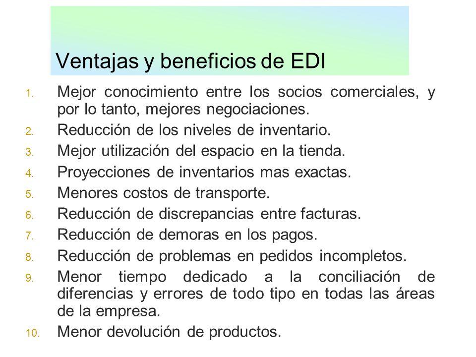 Ventajas y beneficios de EDI