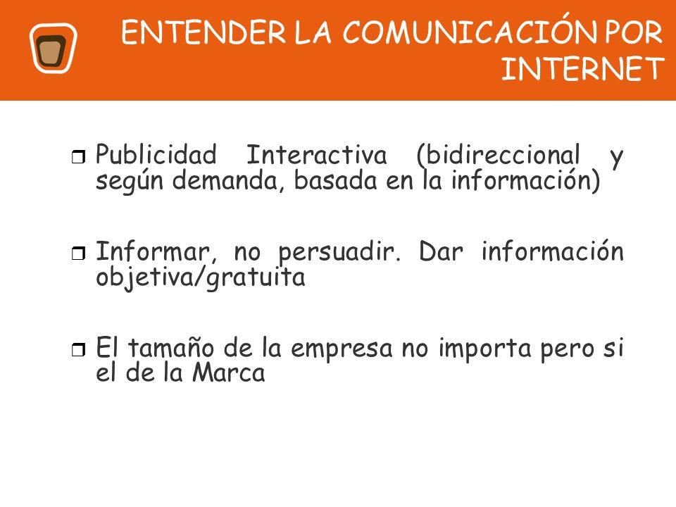 ENTENDER LA COMUNICACIÓN POR INTERNET