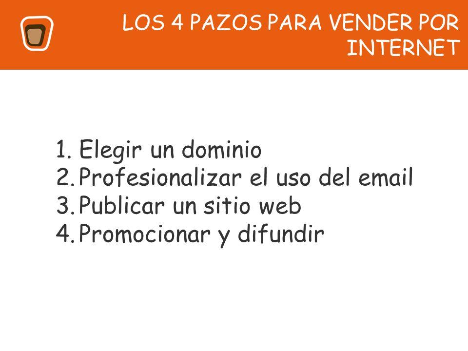 Profesionalizar el uso del email Publicar un sitio web