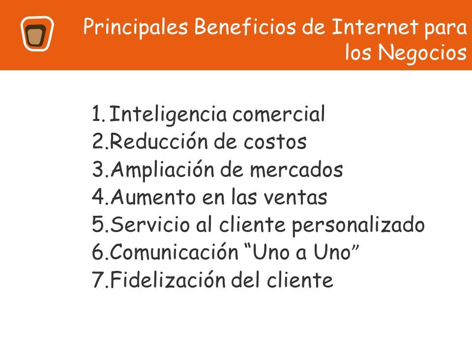 Principales Beneficios de Internet para los Negocios