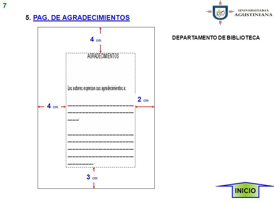 5. PAG. DE AGRADECIMIENTOS