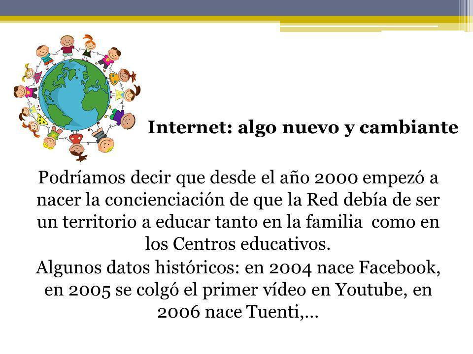 Internet: algo nuevo y cambiante