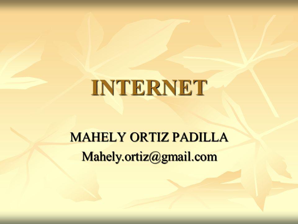MAHELY ORTIZ PADILLA Mahely.ortiz@gmail.com
