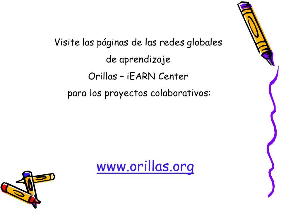 Visite las páginas de las redes globales de aprendizaje
