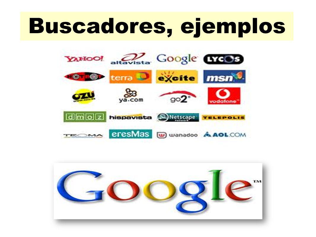 Buscadores, ejemplos