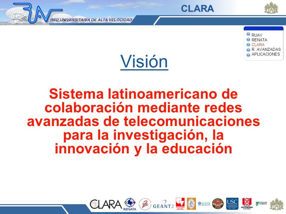 CLARA RUAV RENATA CLARA R. AVANZADAS APLICACIONES. Visión.