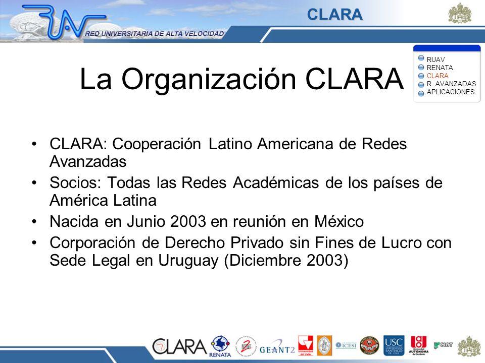 La Organización CLARA CLARA
