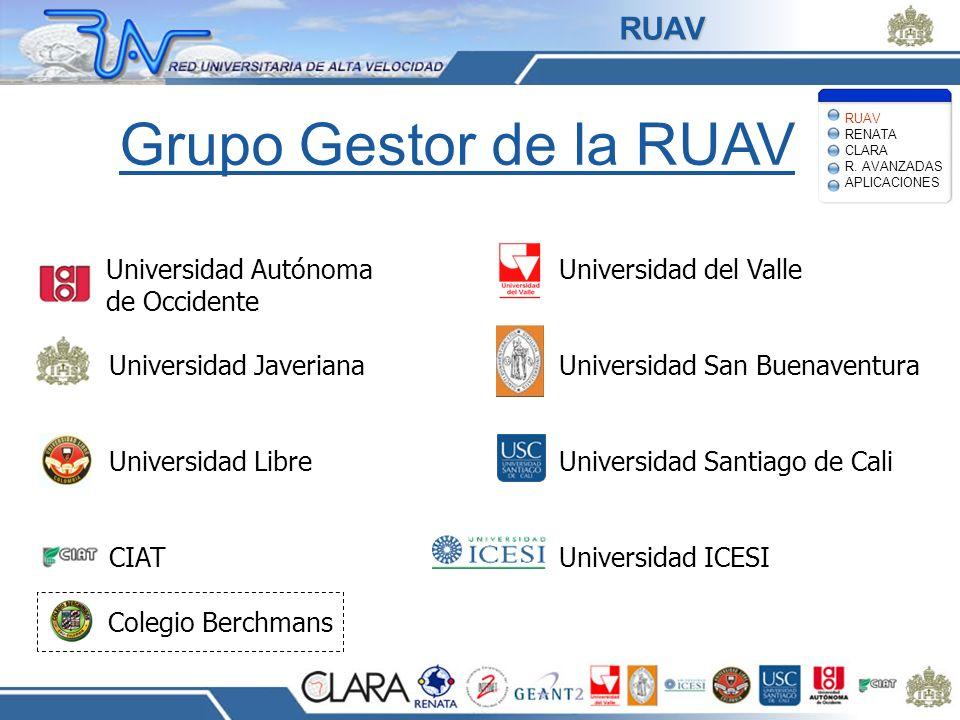 Grupo Gestor de la RUAV RUAV Universidad Autónoma de Occidente