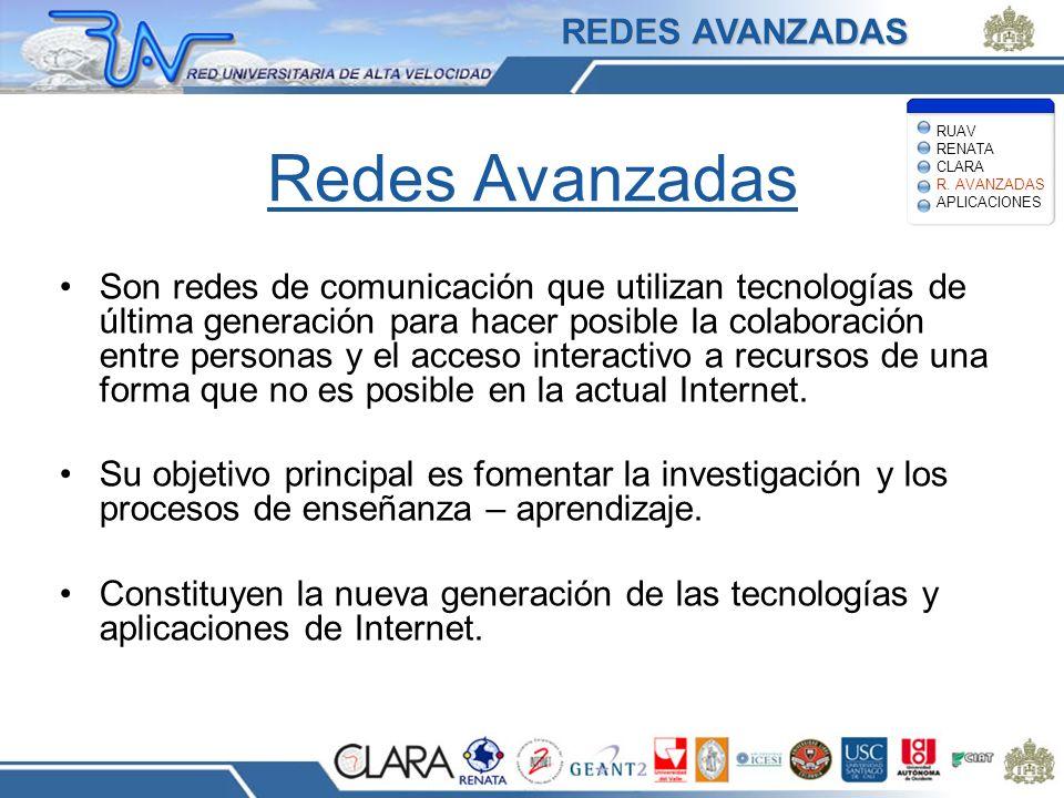 Redes Avanzadas REDES AVANZADAS