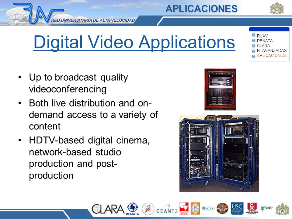Digital Video Applications