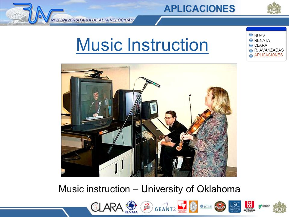 Music instruction – University of Oklahoma