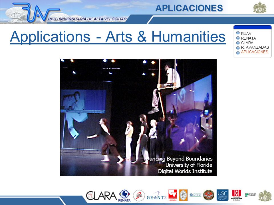 Applications - Arts & Humanities