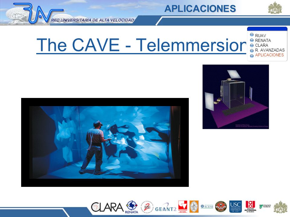 The CAVE - Telemmersion