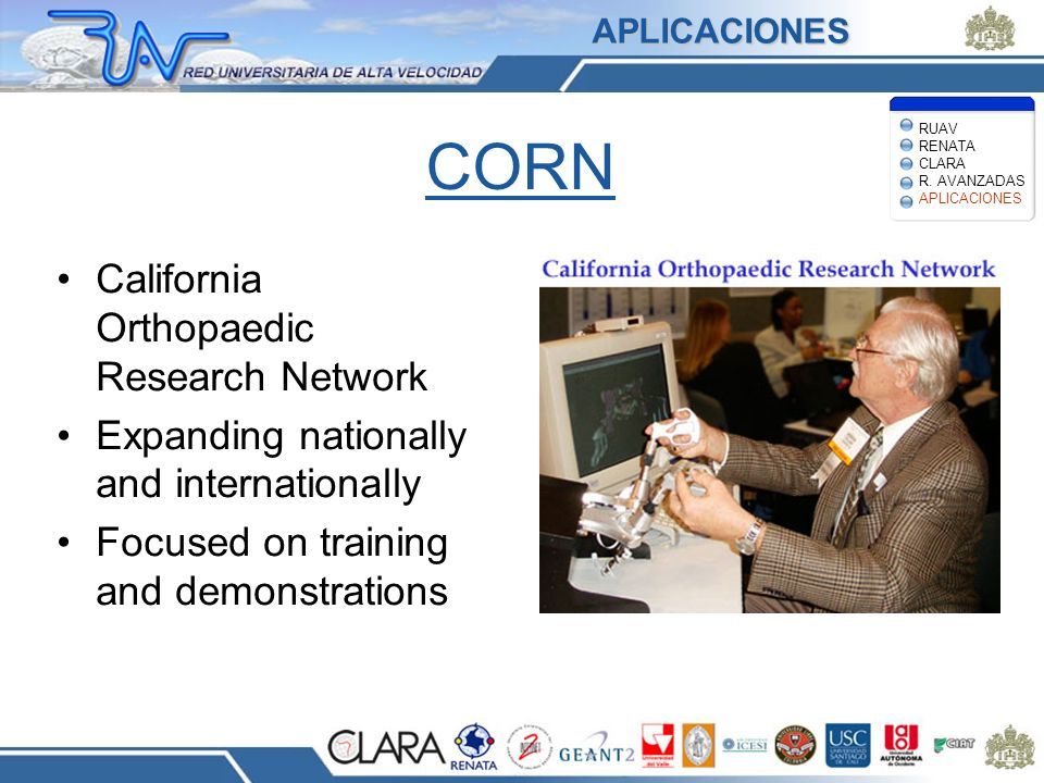 CORN California Orthopaedic Research Network