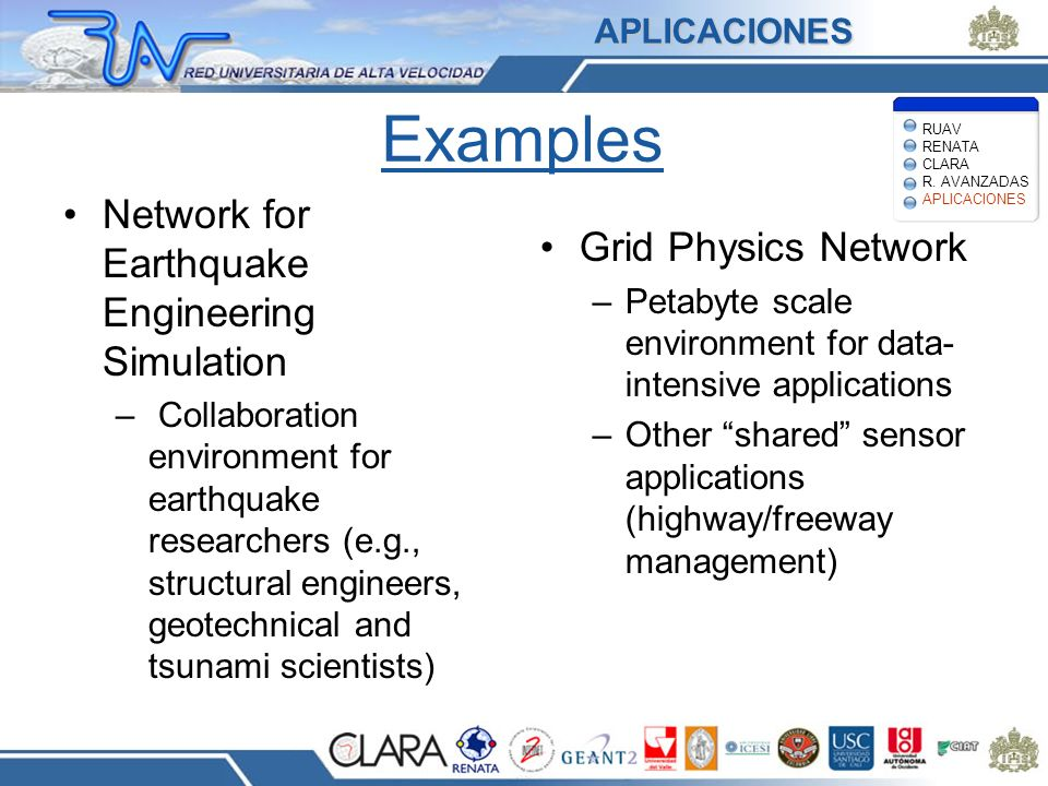 Examples Network for Earthquake Engineering Simulation