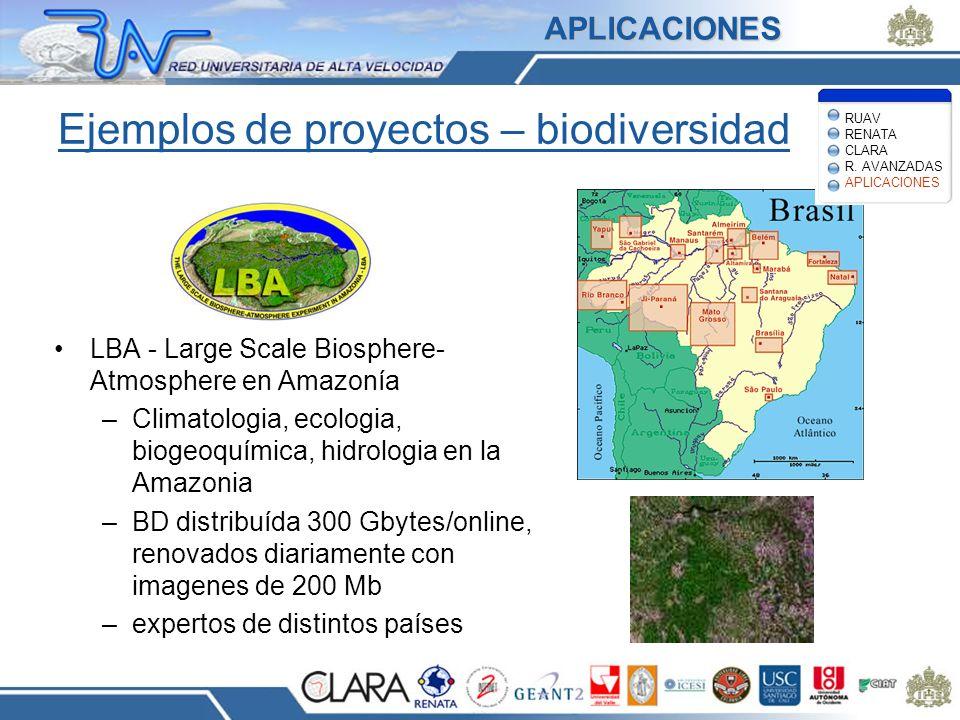Ejemplos de proyectos – biodiversidad