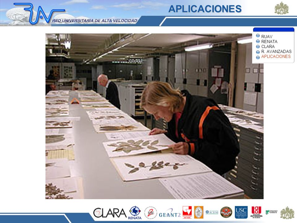 APLICACIONES RUAV RENATA CLARA R. AVANZADAS APLICACIONES