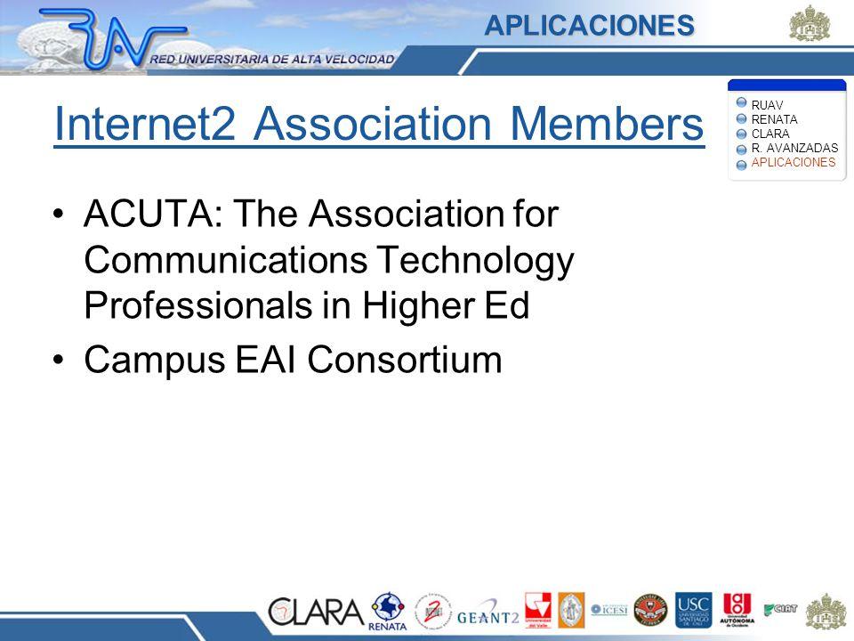 Internet2 Association Members