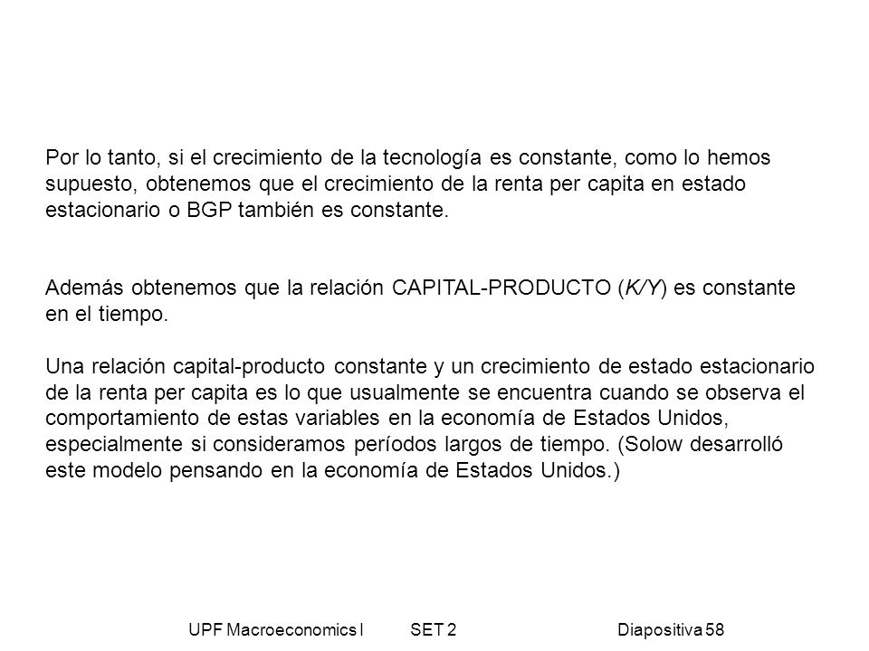 UPF Macroeconomics I SET 2