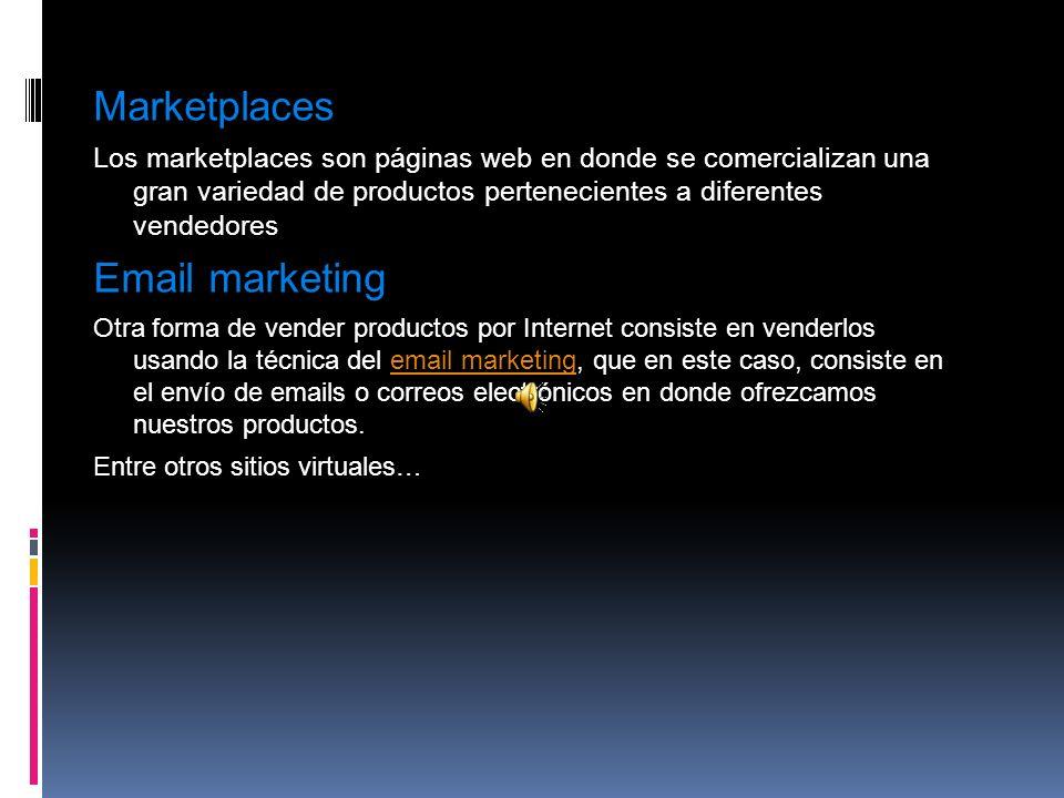 Marketplaces Email marketing