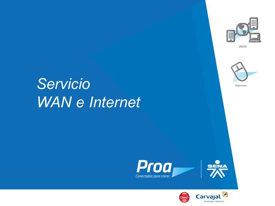 Servicio WAN e Internet