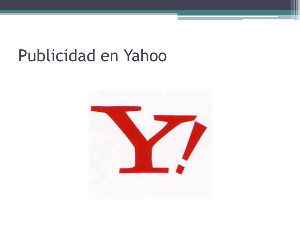 Publicidad en Yahoo