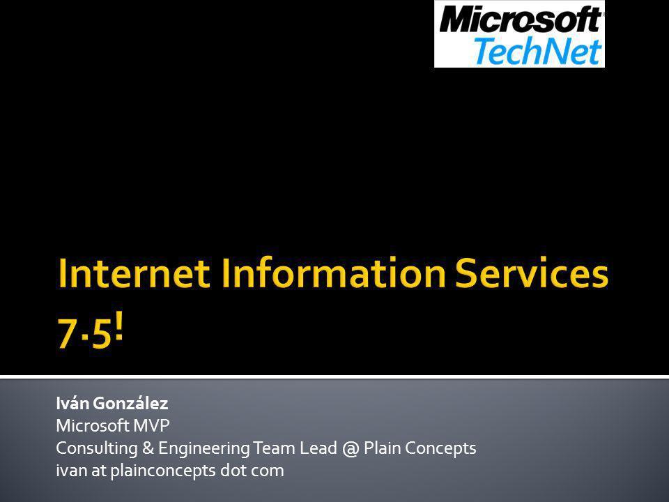 Internet Information Services 7.5!
