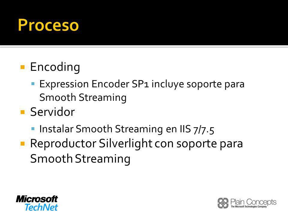 Proceso Encoding Servidor