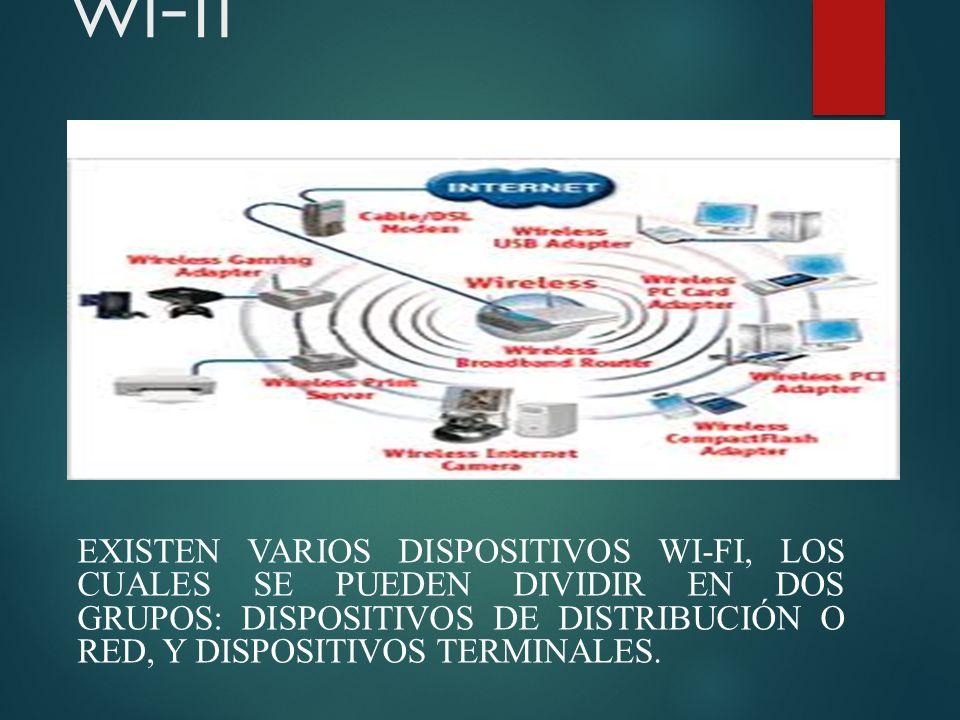 Dispositivos de red wi-fi