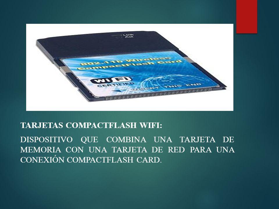 Tarjetas compactflash WiFi: