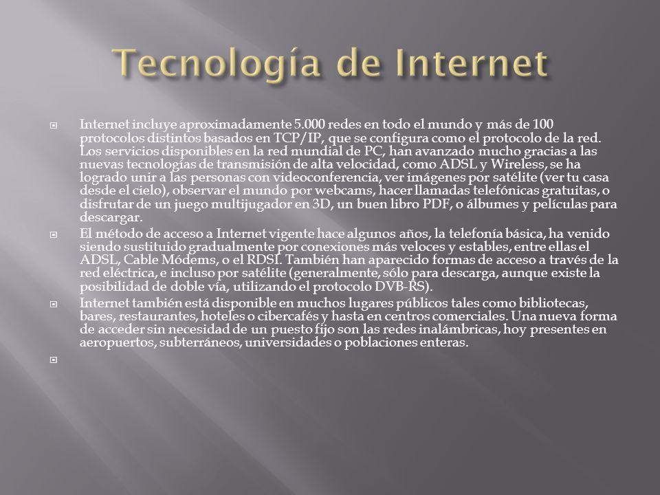 Tecnología de Internet
