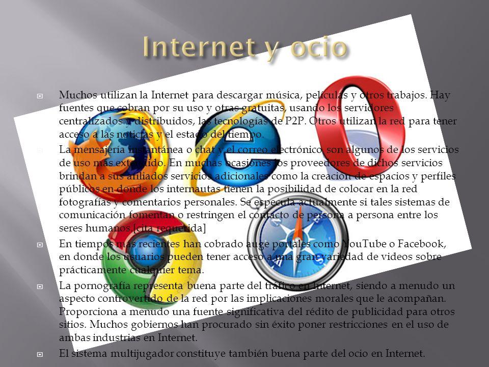 Internet y ocio