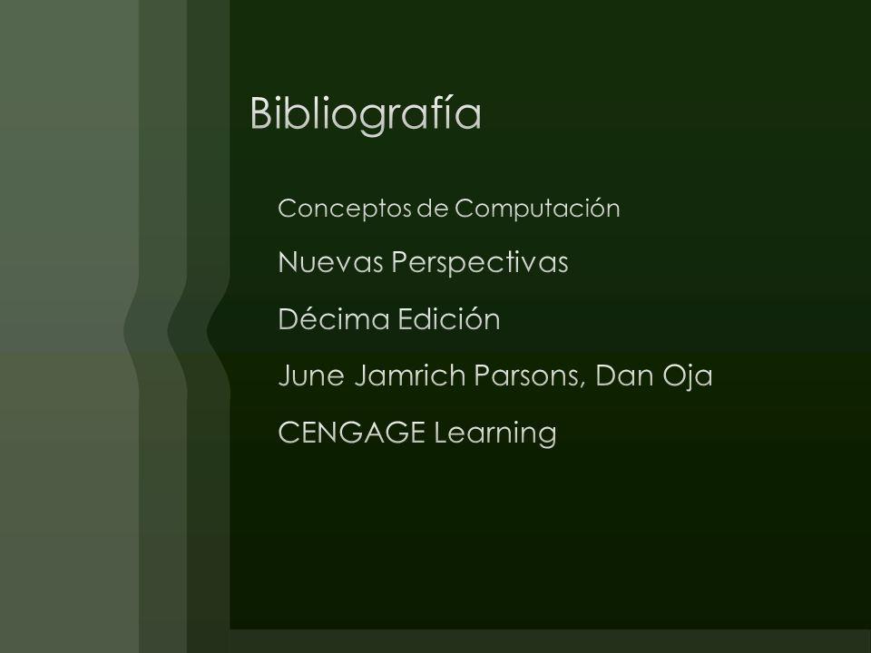 Bibliografía Nuevas Perspectivas Décima Edición