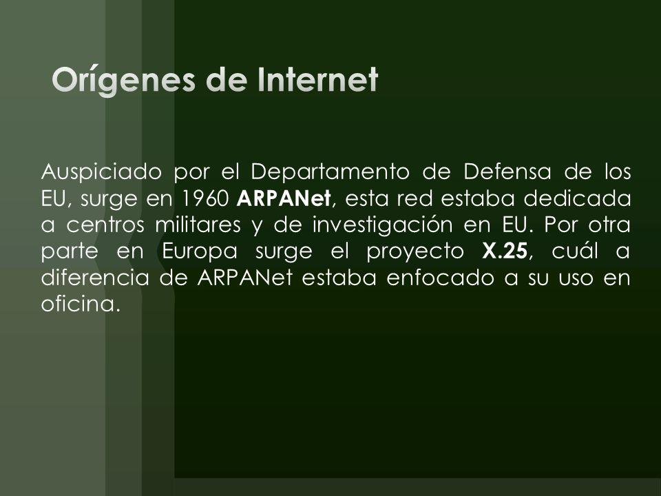 Orígenes de Internet